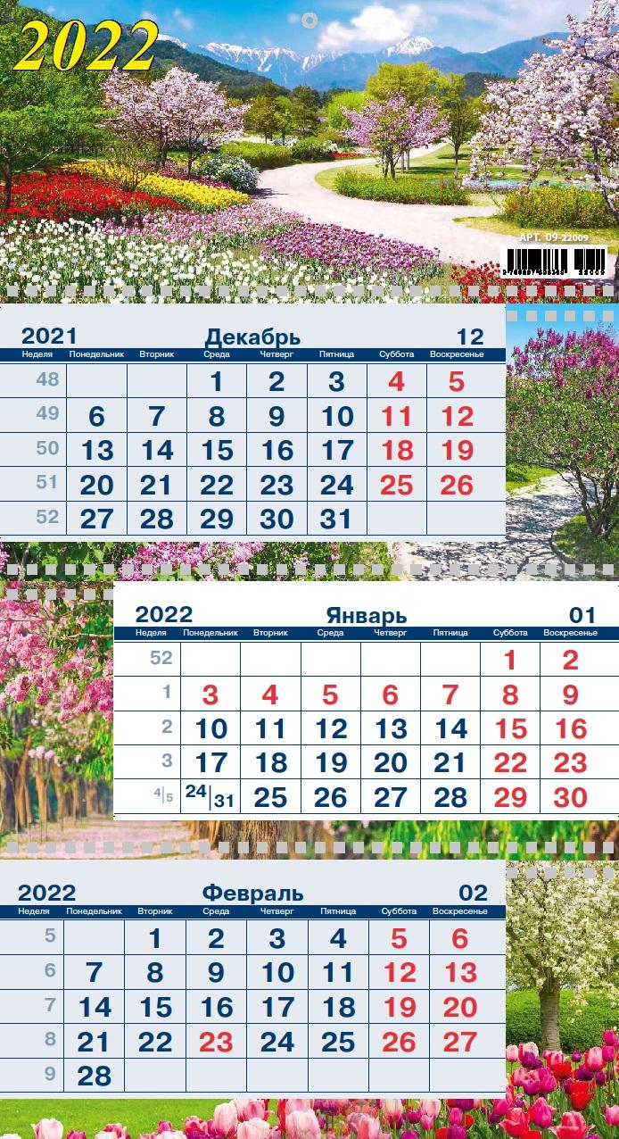 Календарь квартальный 2017 09-16002 Год петуха