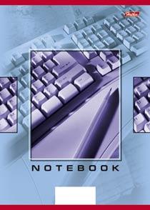 Блокнот А5 80л спир Клавиатура (на жестк.обложке)