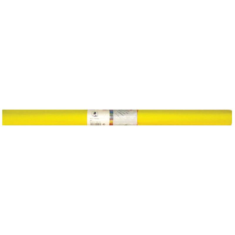 Бумага гофрированная 50*250 желтая