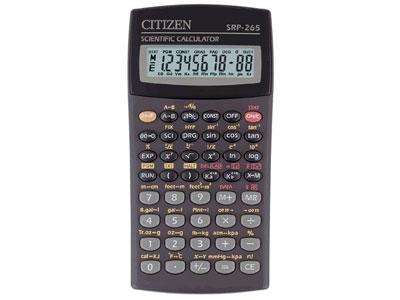 Калькулятор 8+2 разр. CITIZEN научный 129 функций