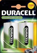 Аккумулятор DURACELL  HR 20 DB 2 + ст. (2200 mAh). СКИДКИ НЕТ!!!