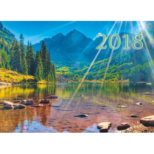 Календарь квартальный 2017 01-16017 Цветы яблони