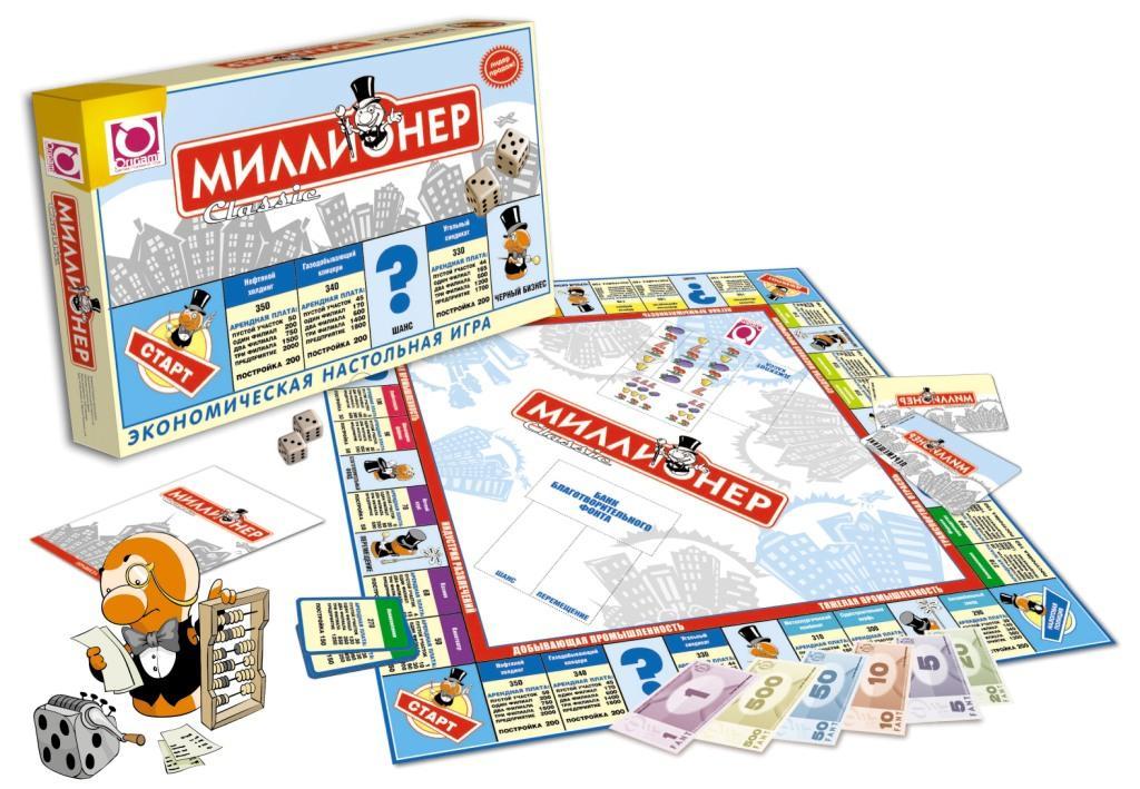 Настольная Миллионер Classic: Экономическая настольная игра