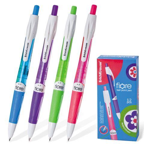 Ручка шариковая EK Fiore синяя автомат