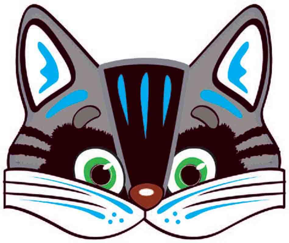 Маски кошка своими руками