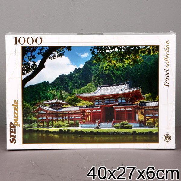 Пазл 1000 Step 79078 Гаваи. Остров Оаху Японская пагода
