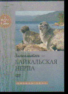 DVD Знакомьтесь - байкальская нерпа (3 фильма на диске)