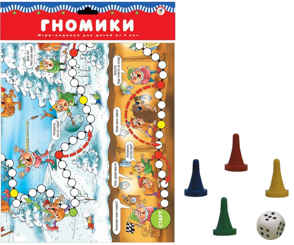 Настольная Гномики: Игра-ходилка для детей от 5 лет