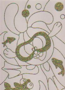 Раскраска Золотые рыбки: Рисуем со смешариками