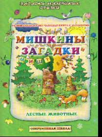 Мишкины загадки: Развивающая и обучающая книга с заданиями