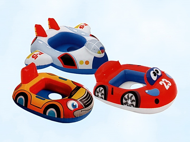 для плавания Круг-лодка детская: Машинка, пароход, самолет