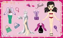 Бумажная кукла 37102-К Bratz Jade