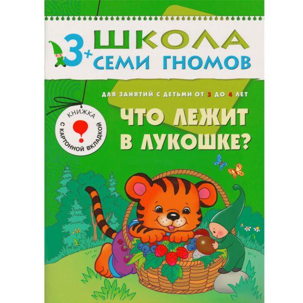 Что лежит в лукошке?: Для занятий с детьми от 3 до 4 лет: Книжка с дидакт.