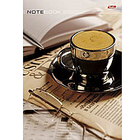 Блокнот А4 80л спир Чашка кофе