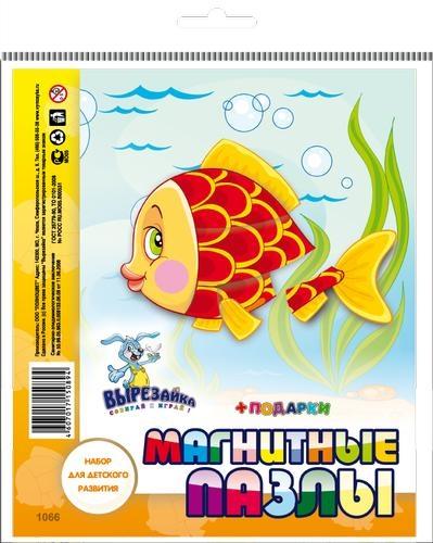 Магнитные пазлы Рыбка