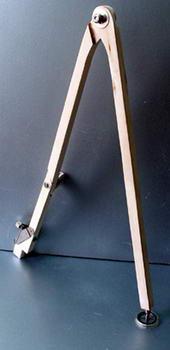 Циркуль классный деревянный