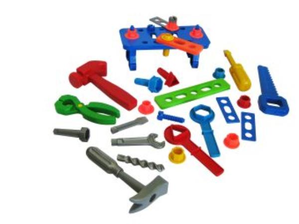 Большой набор инструментов пластмас.