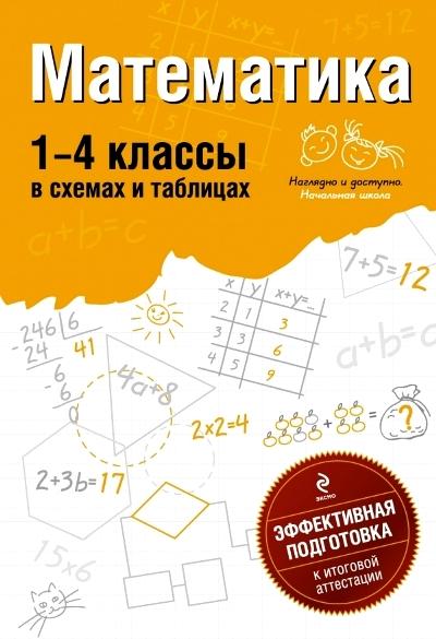 Математика. 1-4 класс: В схемах и таблицах