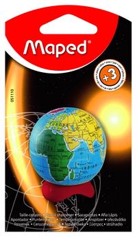 Точилка Maped Глобус 1 отв. контейнер