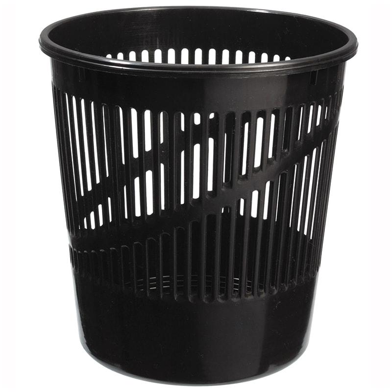 Корзина д/бумаг 12л сетчатая черная
