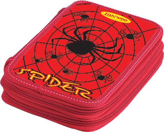 Пенал 2 отд полн Spider Паук