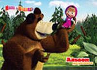 Альбом д/рис 24л Маша и медведь ассорти 4 вида