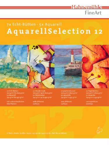 Альбом д/акварели А4 12л Aquarell Selection