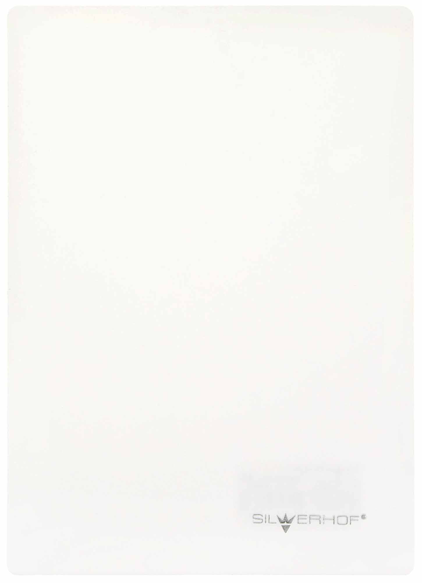 Доска д/пластилина А5 пластик белая