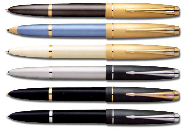 Ручка перьевая Parker 100 серебрянный опал