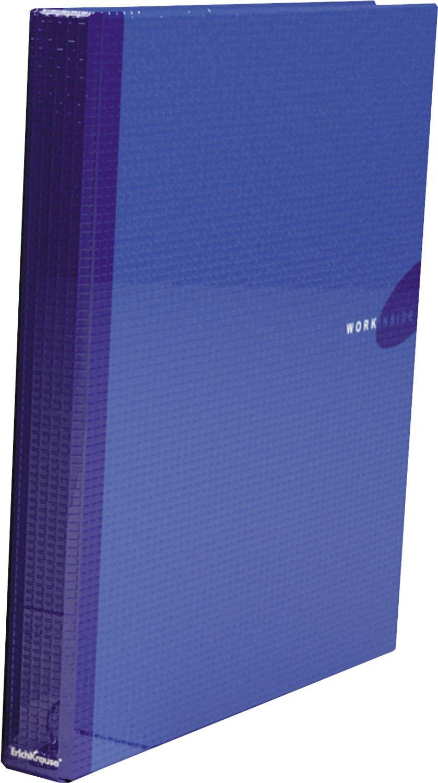 Папка-регистратор 30мм EK Work Inside синяя c 2-мя кольцами