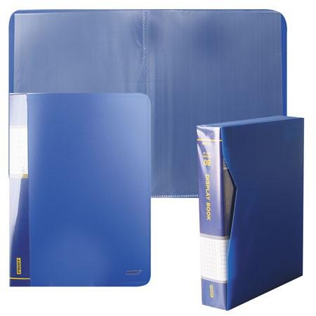 Папка-файл А4 80л Proff синяя в п/к