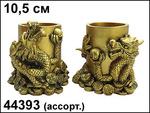 Магнит Забавные драконы (керамика, квадрат)