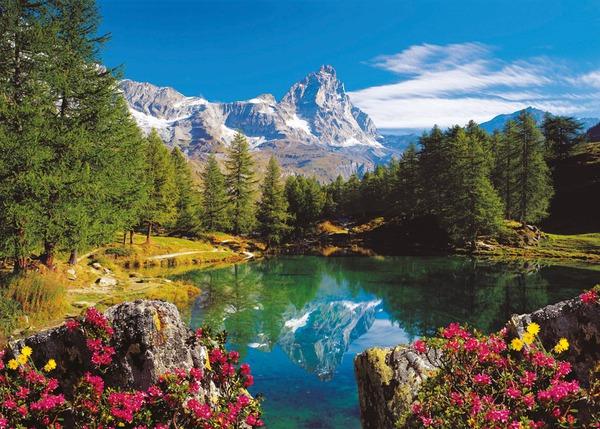Пазл 2000 Ravensburger 166213 Осень в горах