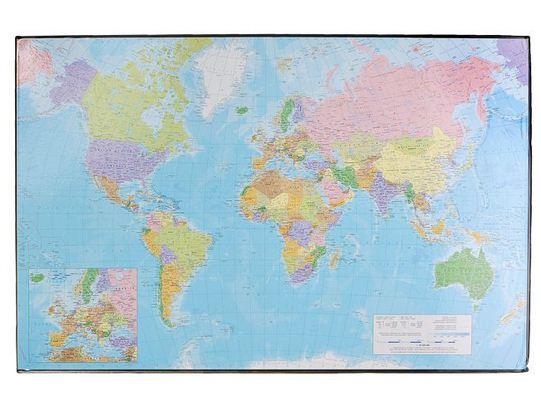 Коврик настольный 41*62,5 Proff Карта мира