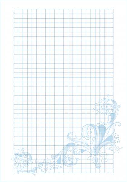 Блок сменный для тетради А5 100л Florence с рисунком