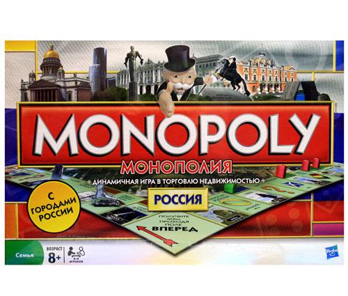 Настольная Монополия Россия