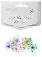 Наклейки декоративные Craft Цветочки 2,5см 8шт
