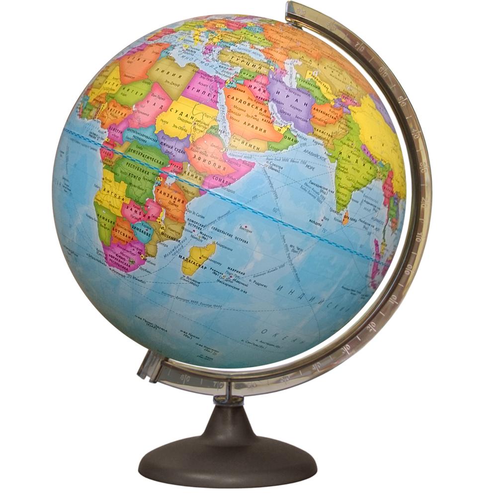 Глобус d-32 политический М 1:40 000 000