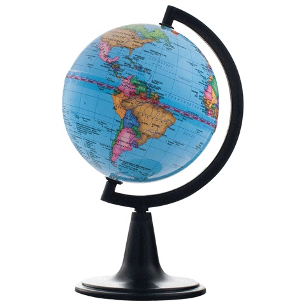 Глобус d-12 политический М 1:104 000 000