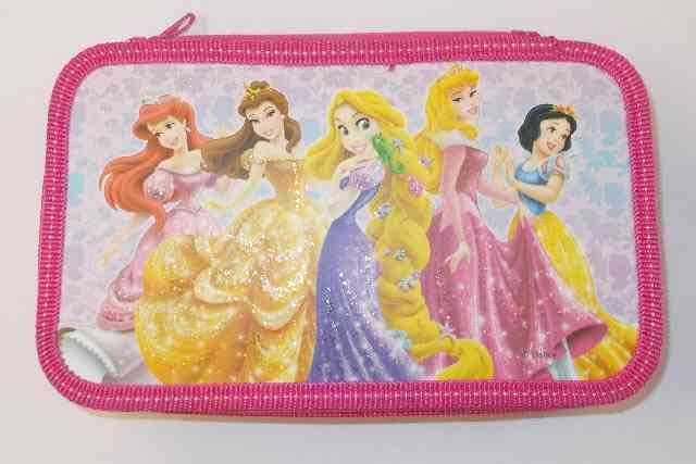Пенал 2 отд полн Disney Принцессы