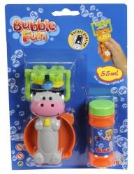 Машинка для мыльных пузырей в виде животных