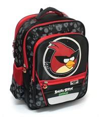 Рюкзак Angry Birds черный с красным ортопедическая спинка
