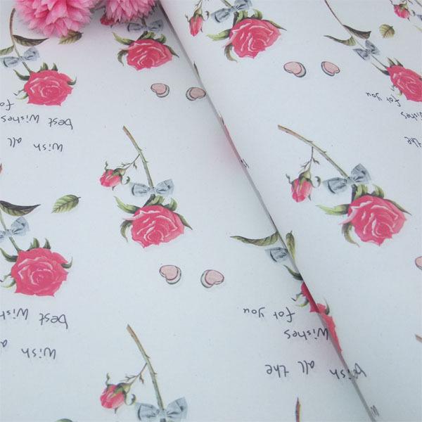 Бумага упак. в рулоне 70*150 Цветы Розы