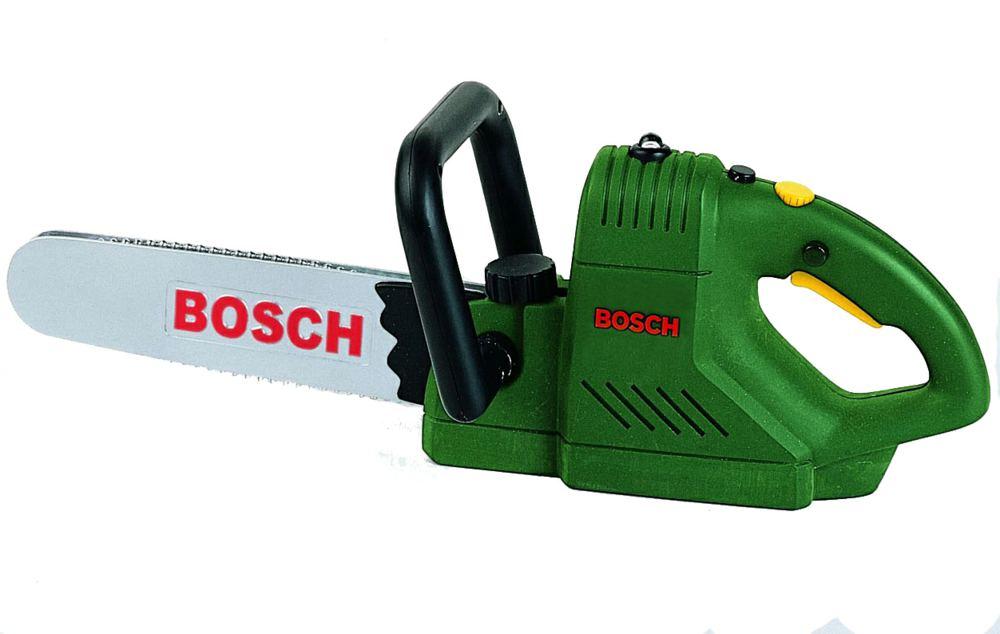 Бензопила Bosch пластмас. свет, звук