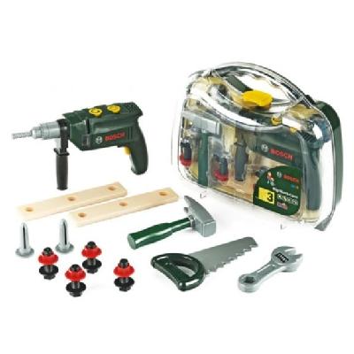 Набор инструментов Bosch с дрелью в кейсе