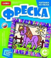 Фреска Любопытная лошадка
