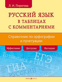 Русский язык в таблицах с комментариями: Справочник по орфографии и пункт