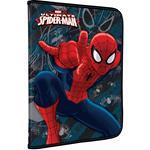 Папка для труда А4 на молнии 1отд Spiderman