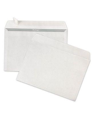 Конверт С4 229*324мм белый с силиконовой лентой