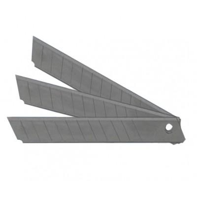 Лезвия д/ножей малые 9мм 10шт/уп